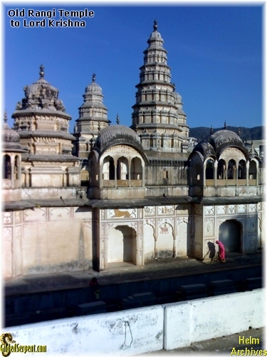 Old Rangi Temple to Lord Krishna