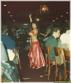 Noora dances at Cedars of Lebanon
