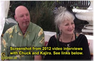 Chuck and Kajira in 2012