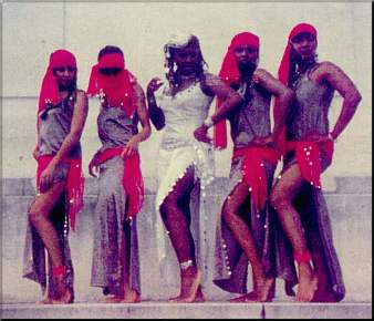 Meroe and Troupe Rakkasah '84
