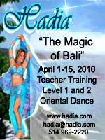 Dance in Bali with Hadia!