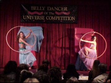 hooping belly dancers