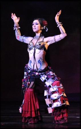 Sharon as Kali Ma