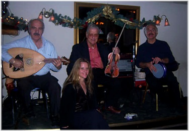 Jennifer with Fred Elias in December 2007