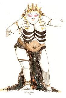 figure belly dance