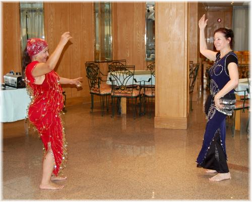Author dances with Khairiyya this year