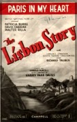 playbill of Lisbon Story
