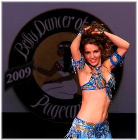 Maria wins Belly Dancer of the Year 2009