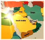 Mid East map