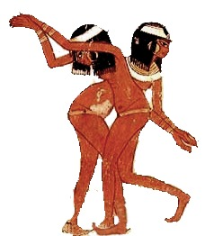 ancient dancers