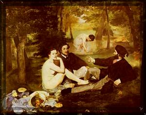 MANET, THE PICNIC, 1862