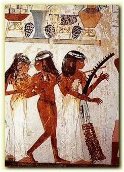 Musicians and Dancers from the Tomb of Nakht,