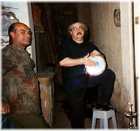 Hossam and Hassam the Drum Maker