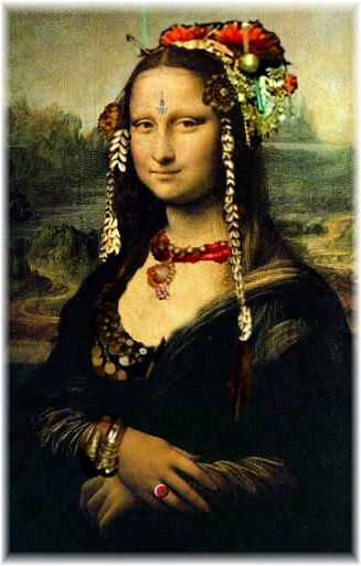 Mona goes Tribal