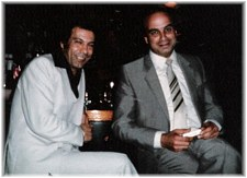 At left is Maroun Saba Oud player and the owner of the Fez in LA, on the right is a singer, I can't remember his name.