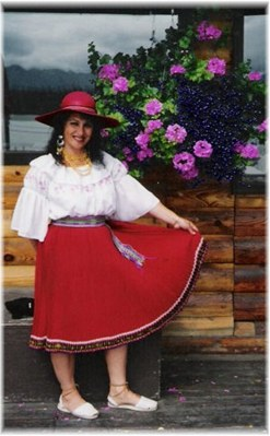 Traditional Ecuadorian Dress