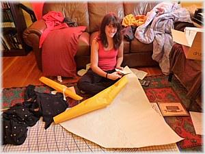 Making my skirt