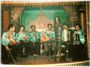 Rebaba and the band