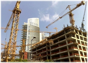 Construction in Beirut