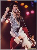 Freddie on Santa