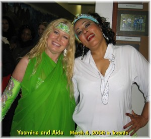 Yasmina and Aida