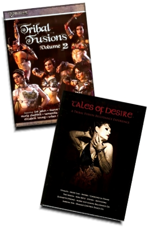 2 Tribal Fusion DVDs