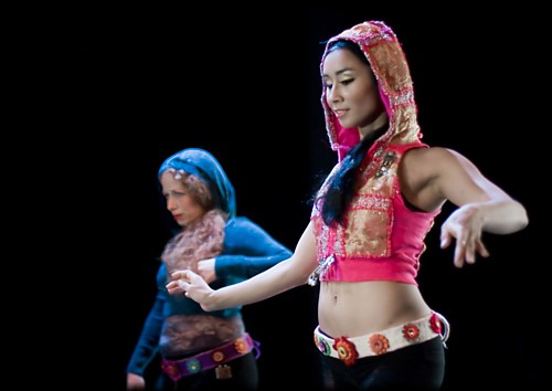 Anasma and Ranya in Hip Hop Fusion