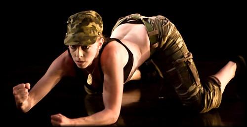 Elishiva in military camo