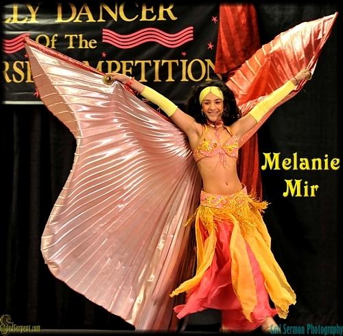 Melanie Mir of Puerto Rico