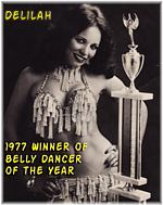 Belly Dancer of the Year 1977