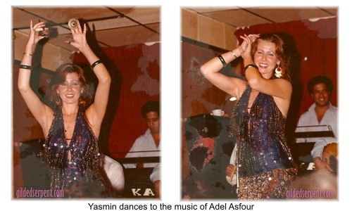 Adel Asfour plays, Yasmin dances