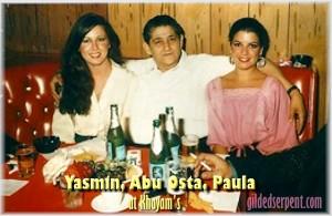 Yasmin, Abu Osta and Paula