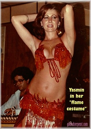 A Dancer's Dancer in 1980's Hollywood :    Yasmin, Dancer