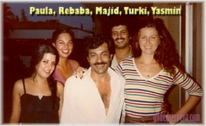 Paula, Rebaba, Majid, Turki, Yasmin