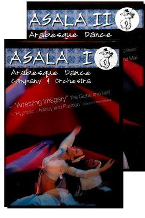Yasmina's Asala DVDs