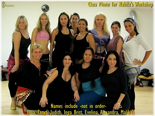 Nabila's Class in Stockholm