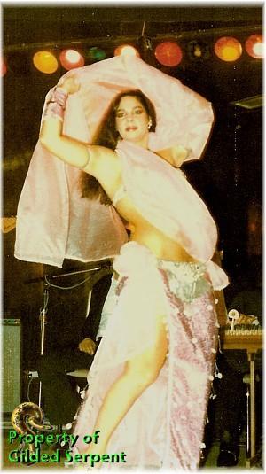 Rebaba on stage at Khayam's