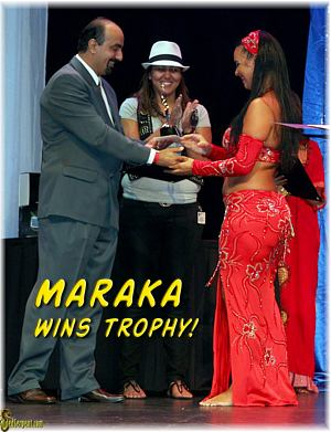 Winner of USA Competition Makara!