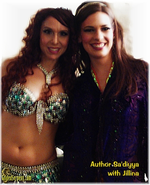 Author with Jillina