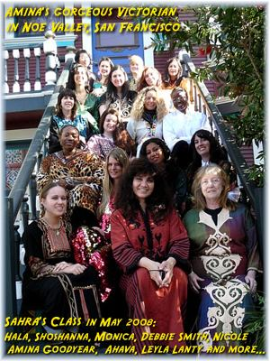 Sahra's class at Amina's in May 2008