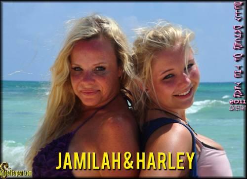 Jamilah and Harley