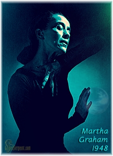 Martha Graham in 1948 mod by GS