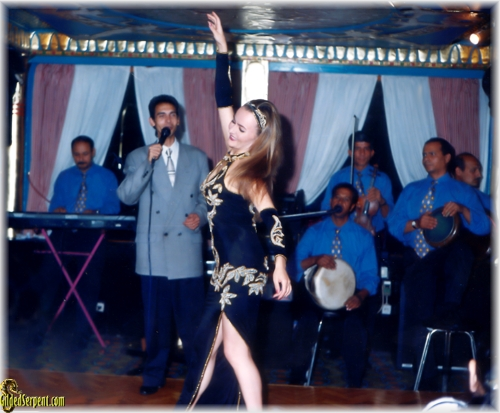 Dancing at teh Pharaohs in 1999