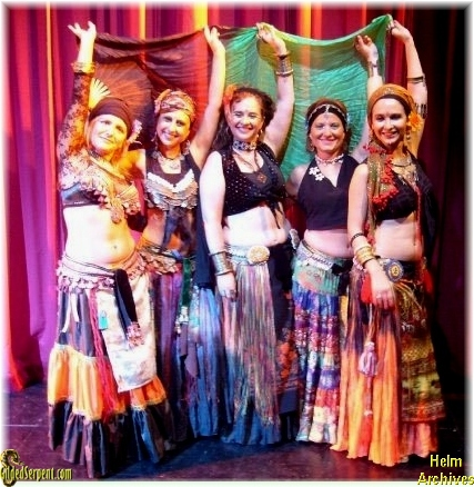 Mandagora Troupe from Barcelona at the Saturday Show