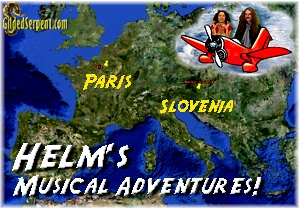 Helm's Musical Adventure in Europe!