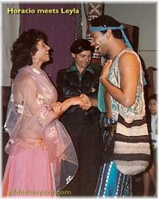 Horacio meets Leyla