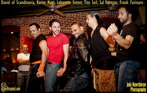 Daivd, Karim, Simon, Tito, Sal, Frank