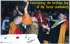 Tartar community birthday party