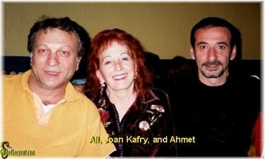 Ali, Joan, and Ahmet