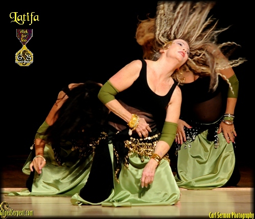 Latifa and the Dancers of DeNile